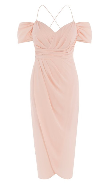 Entwine Maxi Dress - pink