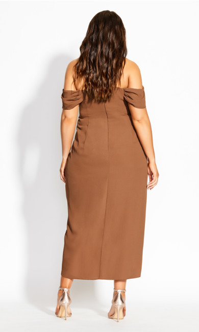 Entwine Maxi Dress - toffee