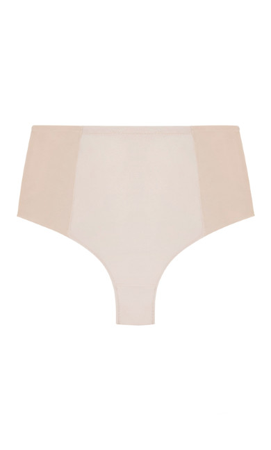Smooth & Chic Control Thong - latte