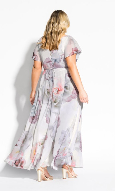 Bella Rosa Maxi Dress - ivory
