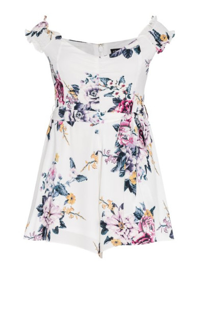 Summer Love Playsuit - ivory
