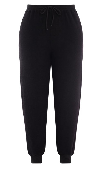 Soft Lounger Pant - black