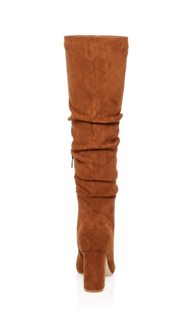 Petra Knee High Boot - tan