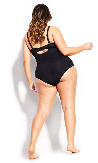 Messina 1 Piece - black