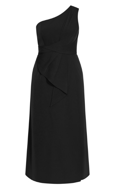 Alegra Maxi Dress - black