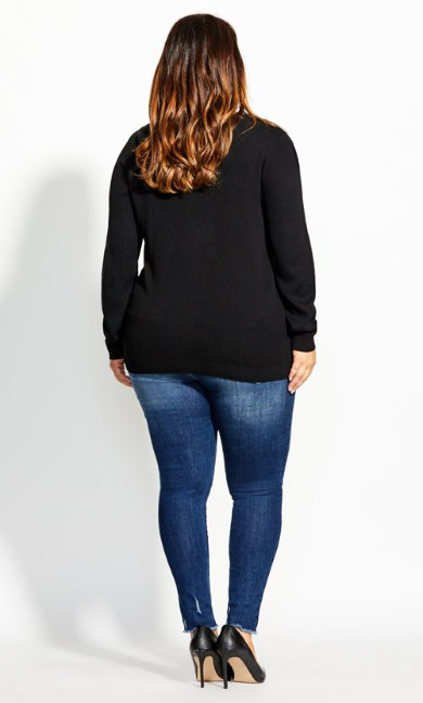 Sweet Love Jumper - black