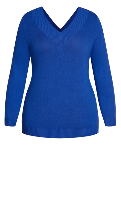 Sweet Love Jumper - cobalt