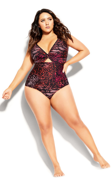 Plus Size Naxos 1 Piece - black
