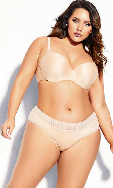 Bodycon Contour Bra - latte