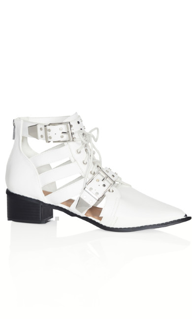 Riley Ankle Boot - white