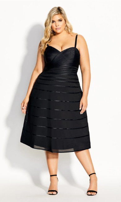 Couture Dress - black