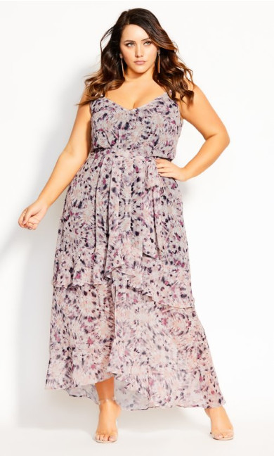Desert Haze Maxi Dress - shell