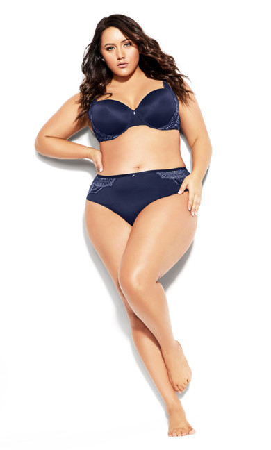 Plus Size Alicia Contour Bra - peacoat
