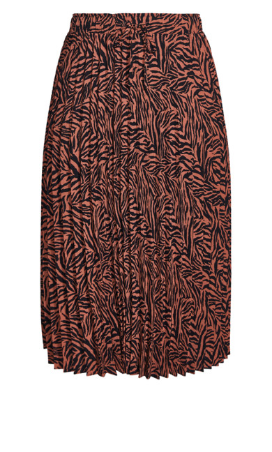 Mini Tiger Skirt - tawny