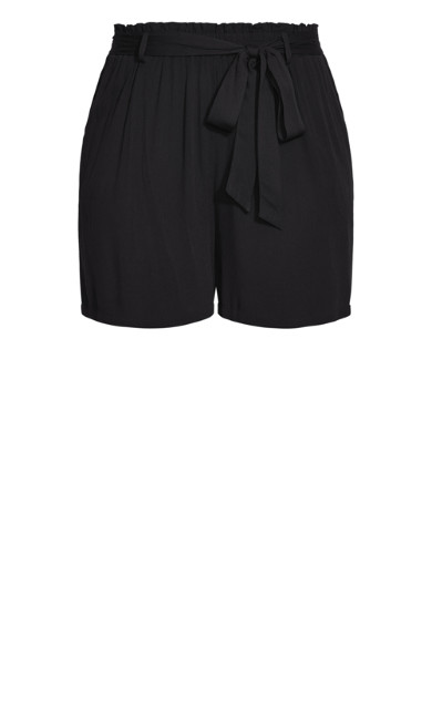 Tropical Tie Short - black