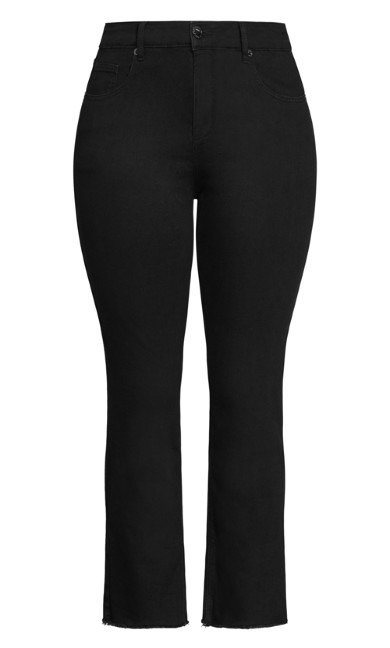 Harley Costa Straight Jean - black