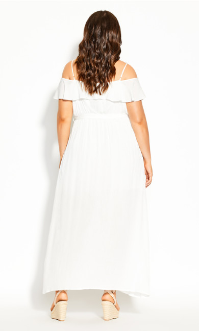 Summer Bliss Maxi Dress - ivory