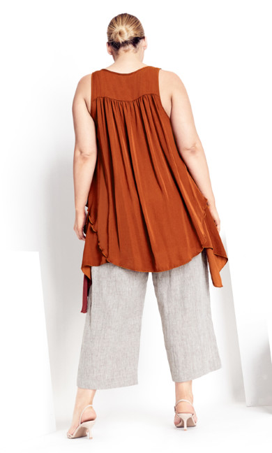 Transform Tunic - cinnamon