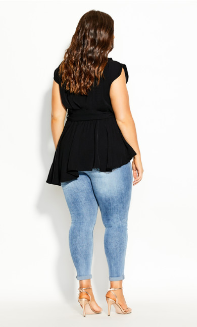 Day Dreams Top - black