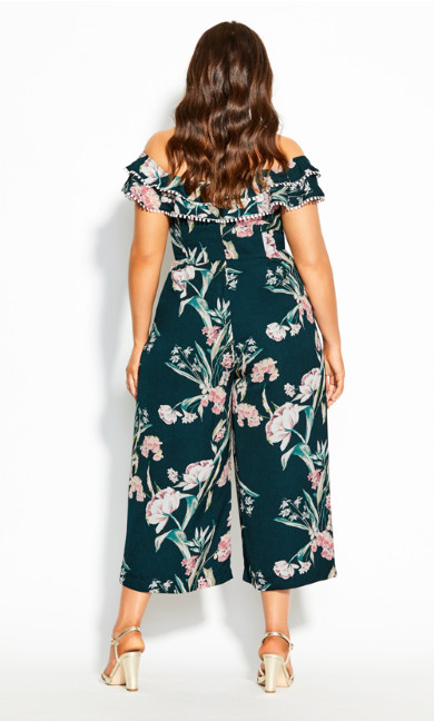 Fresh Field Jumpsuit - jade