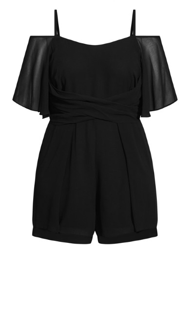 Felicity Playsuit - black