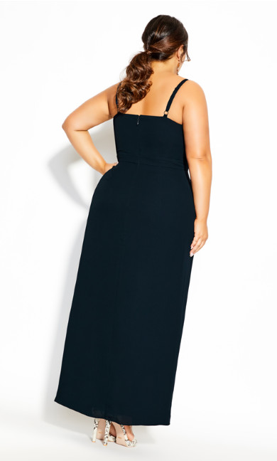 So Swish Maxi Dress - navy