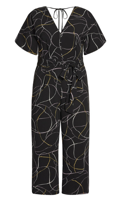 Free Hand Jumpsuit - black