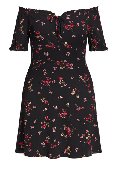 Pretty Punch Dress - black