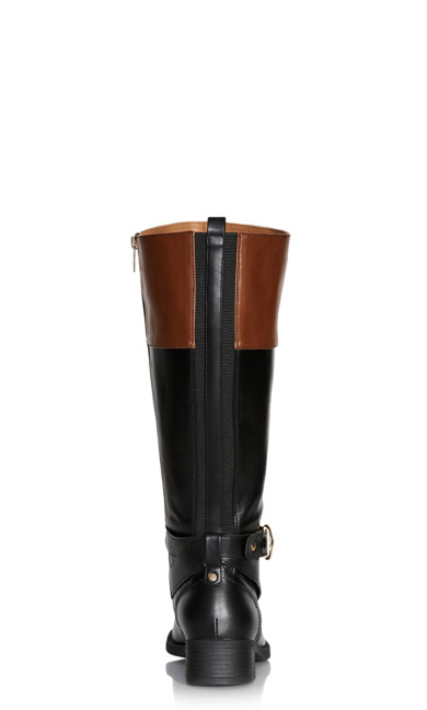 Tilly Tall Boot - cognac