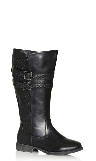 Plus Size Norwalk Tall Boot - black