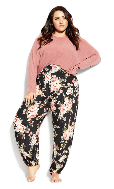Plus Size Jade Pant - black