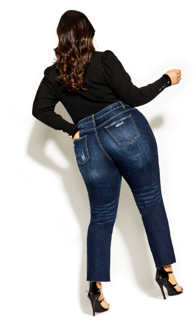 Harley So Jaded Skinny Jean - dark denim
