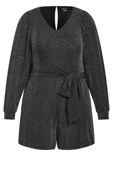 Celebration Playsuit - gunmetal