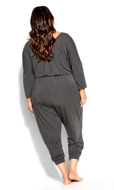 Ruby Jumpsuit - charcoal