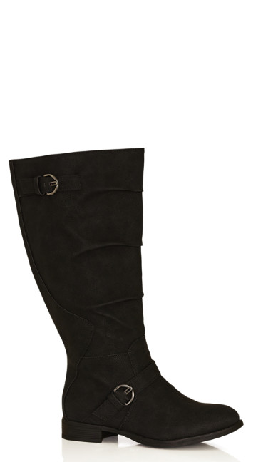 Gabby Double Buckle Riding Boot