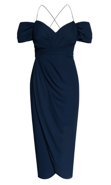 Entwine Maxi Dress - Navy