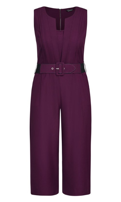 Veronica Jumpsuit - mulberry