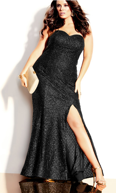 Extravaganza Maxi Dress - black
