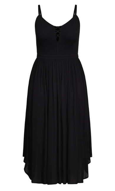 Belize Dress - black