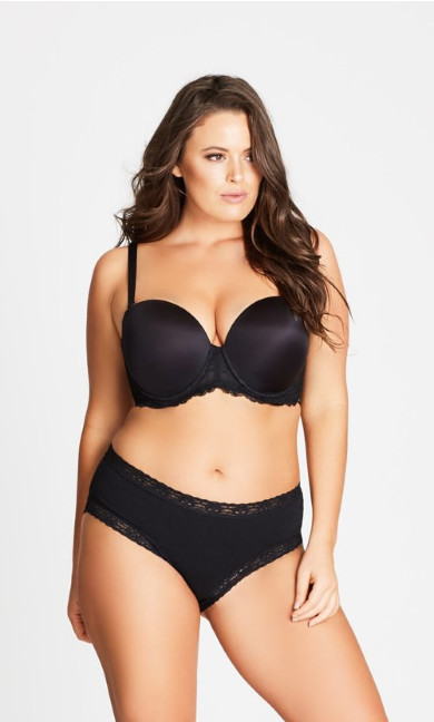 Smooth & Chic Multiway Contour Bra - black
