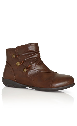 Marnie Ankle Boot - chocolate