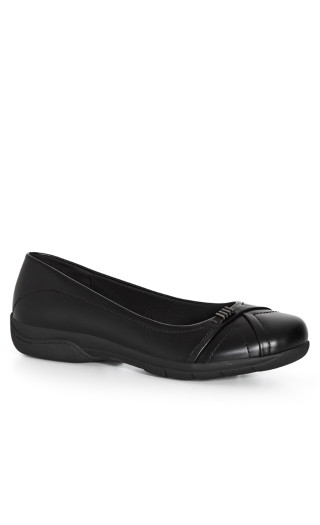 Comfort Step Out Flat - black