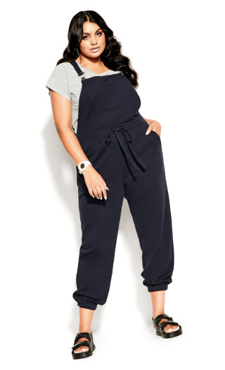 Soft Overall Jumpsuit - steel