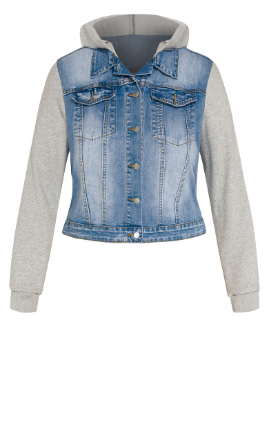 Denim Street Jacket - denim
