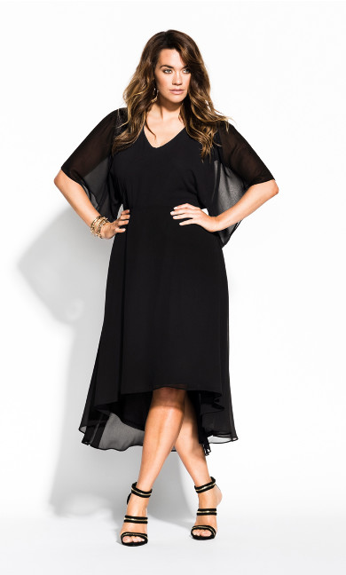 Women's Plus Size Adore Dress - black