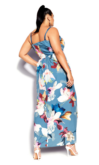 Exotic Tropics Maxi Dress - ziggurat