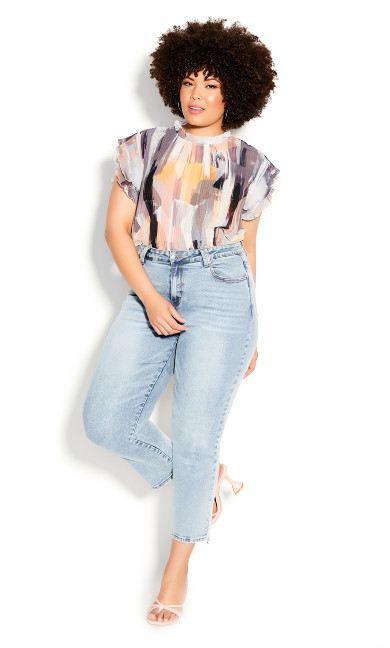 Plus Size Harley Most Wanted Jean - light denim