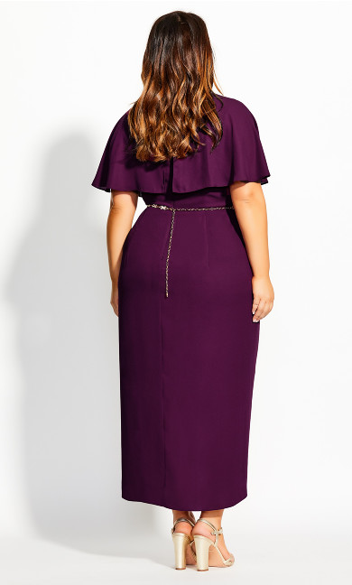 Enchantment Maxi Dress - mulberry