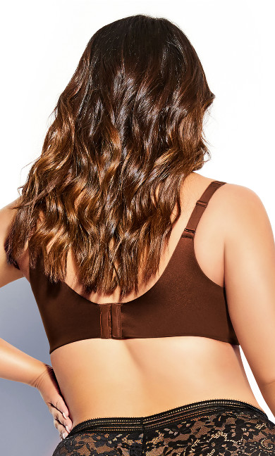 Smooth & Chic T-Shirt Bra - cinnamon