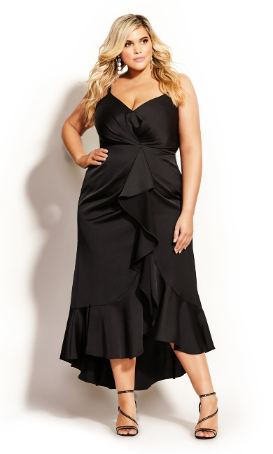 Passion Maxi Dress - black